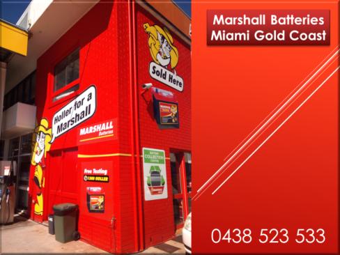 Marshall Batteries Miami