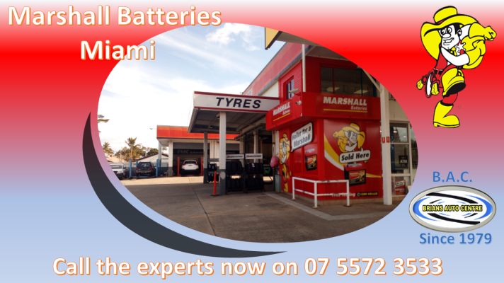 Marshall Batteries Gold Coast