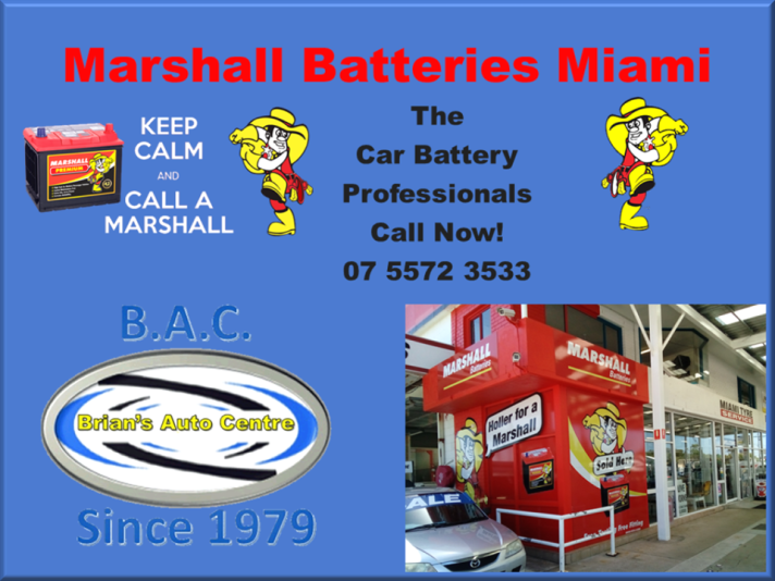 Marshall Batteries Miami