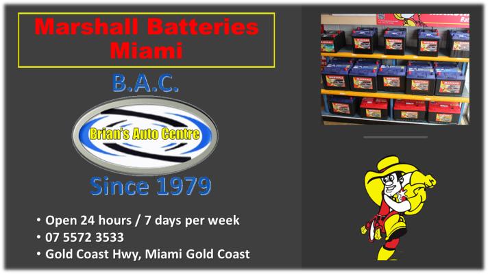 Marshall Car Batteries Miami